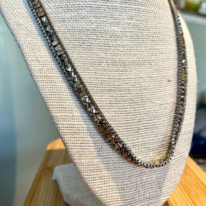 Stella & Dot Silver Necklace