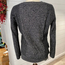 Load image into Gallery viewer, All Saints Lace Jumper Tie Side Sweater Wool Sz S