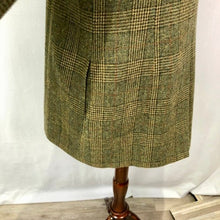 Load image into Gallery viewer, Soft Surrounding Wool Plaid Military Style Jacket