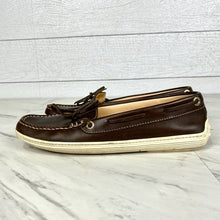 Load image into Gallery viewer, TOD'S Brown Leather Deck Shoes Size 5.5