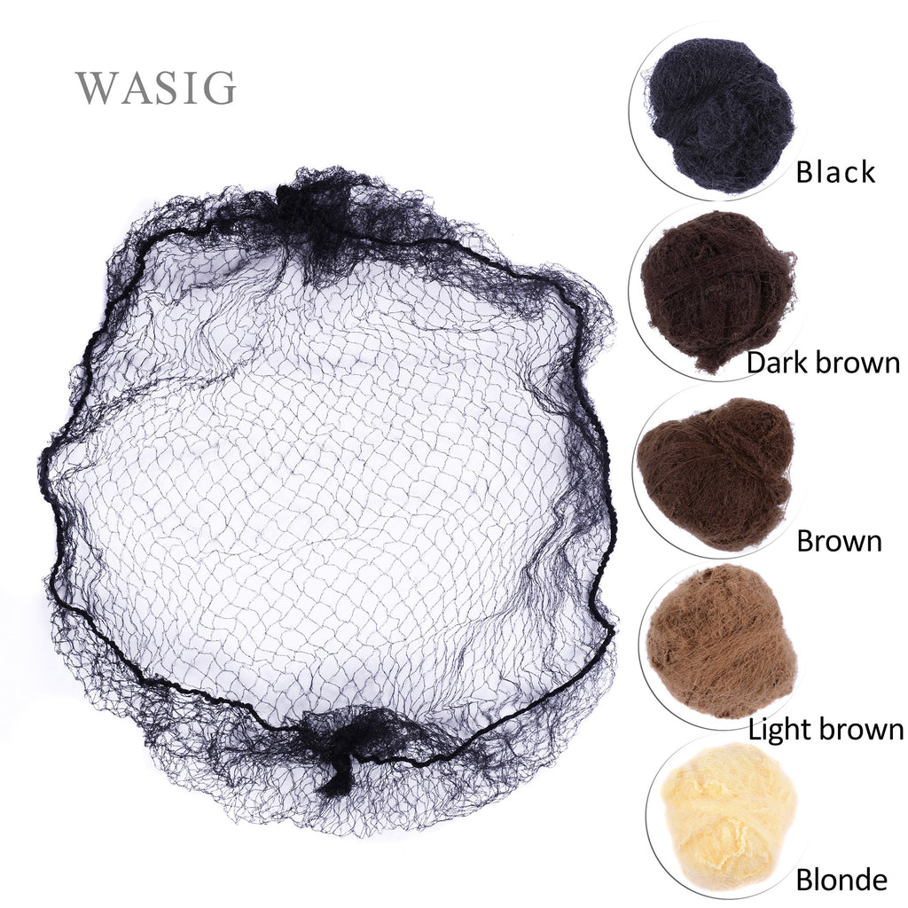 Black Brown Coffee Color Invisible Soft Elastic Lines Hair Hair Net