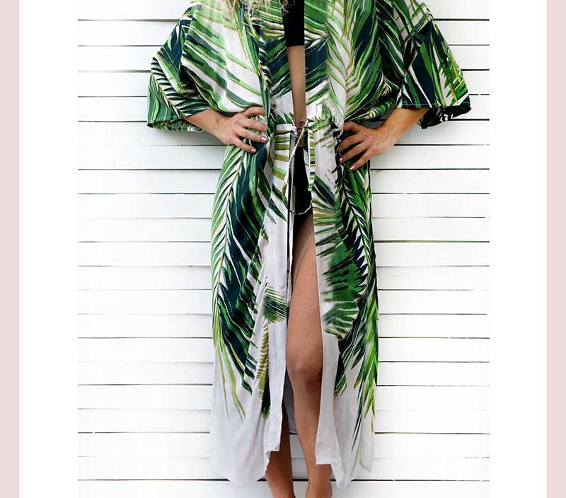 Boho Style Beach Cover-up Suit