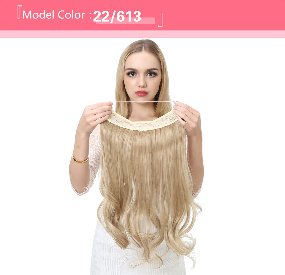 Wave Halo Hair Extensions