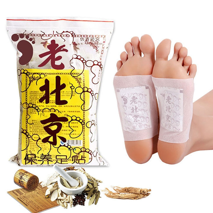 Ginger Detox Foot Pads - 10 PCS