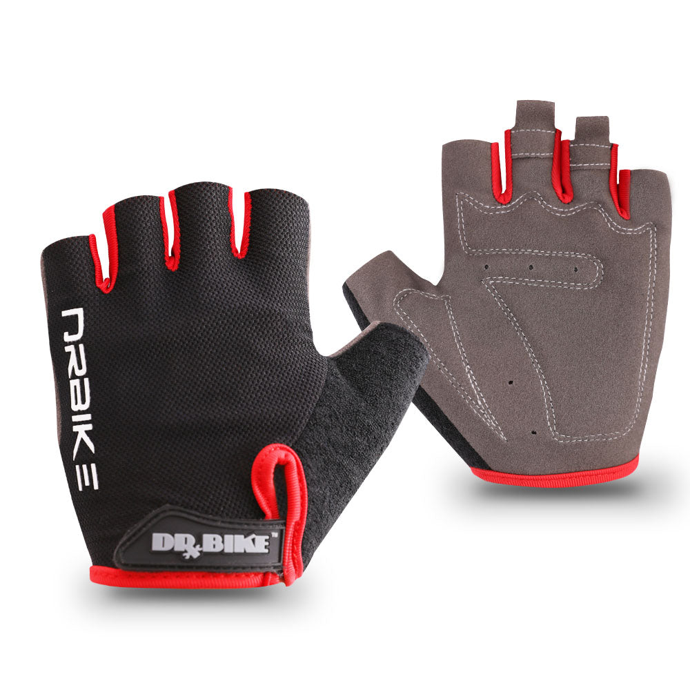 Sweat Absorbent Design Half Finger Cycling Gloves