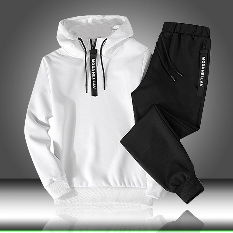 Pullover Hoodie + Pants For Men