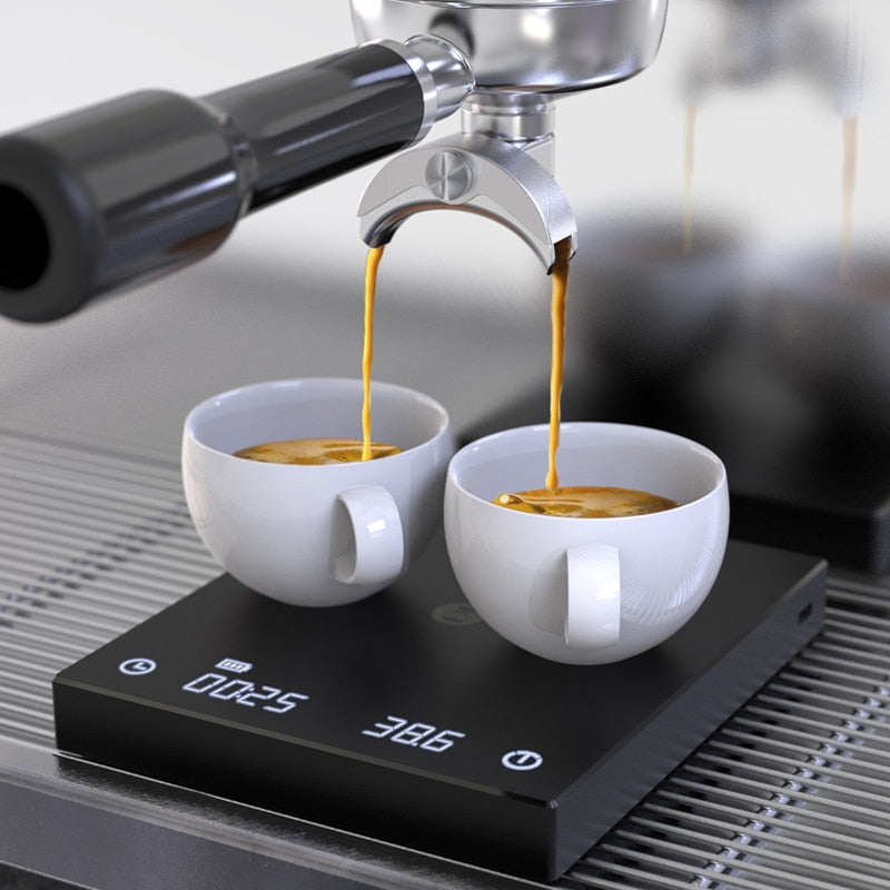scale pour coffee Electronic Drip