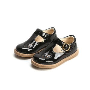 Spring Girls Leather Shoes