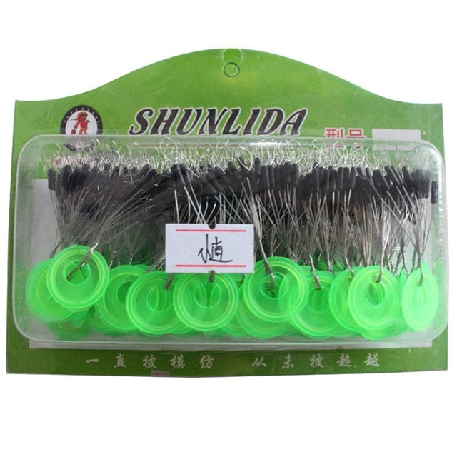 Green Rubber Stopper Fishing Line Resistance
