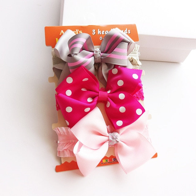 Cute Vintage Headband For Baby Girl