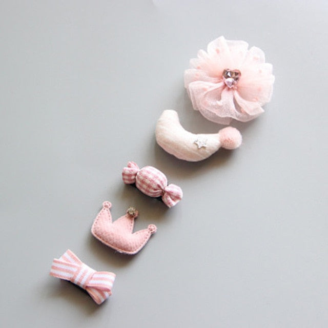 Cartoon Toddler Hair Clips
