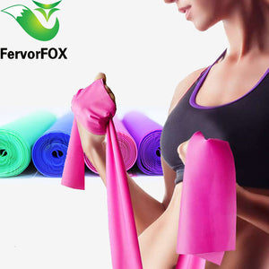 Fitness Exercise Resistance Bands Rubber