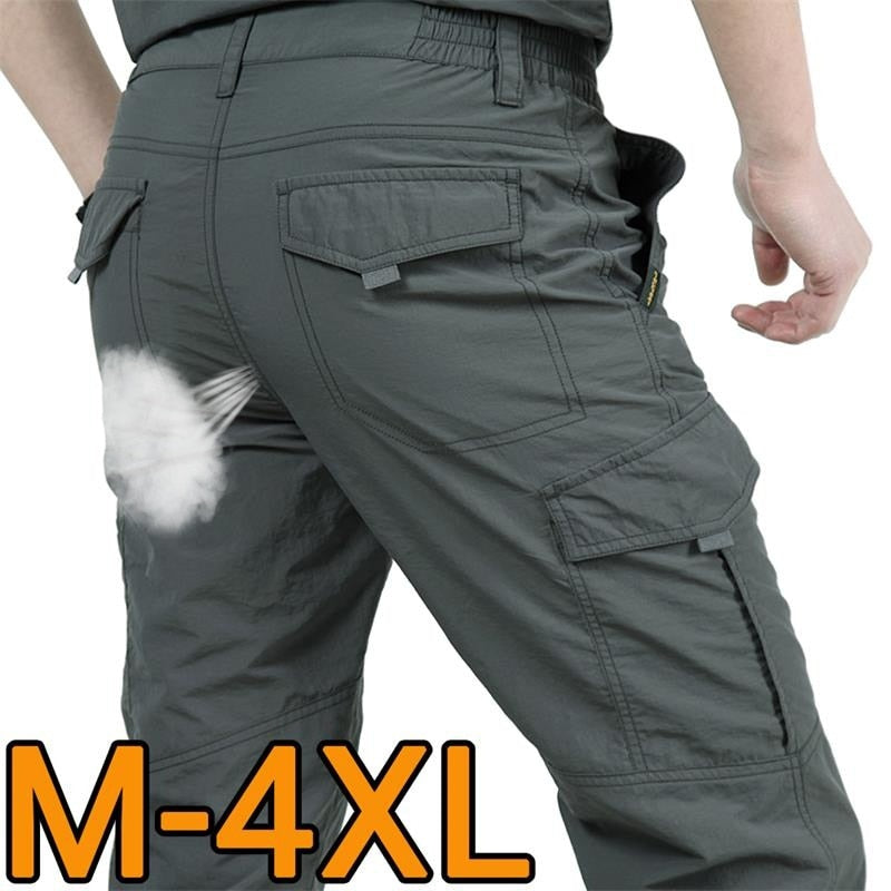 Multi Pocket Cargo Pants Men