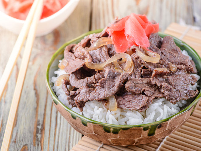 Gyudon (Japanese Beef Rice Bowl)
