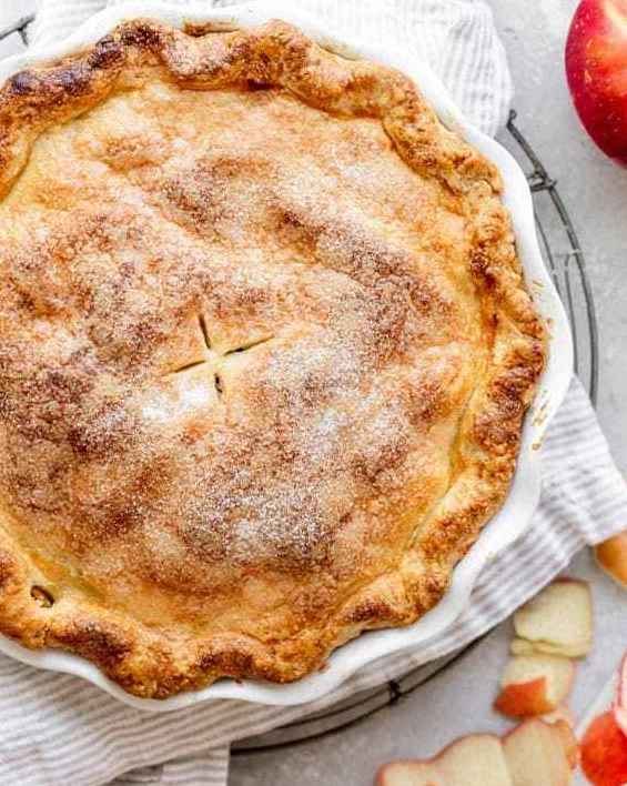 Fresh Apple Pie (9inch / 22.86cm) - Free Delivery