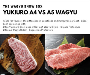 The Wagyu Snow Box - Free Delivery