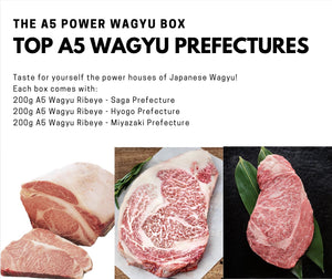 The A5 Power Wagyu Box - Free Delivery