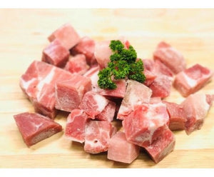 250g Spain Pork Collar Iberico Cubed (Frozen)
