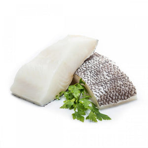 350-400g French Cod / Chilean Sea Bass Fillet (Frozen)