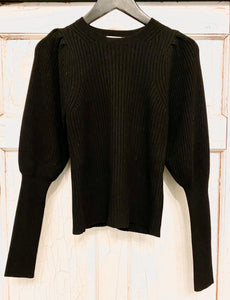 Ramy Brook Cashmere Blend Ribbed Sweater