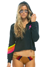 Load image into Gallery viewer, Aviator Nation Neon Chevron Hoodie