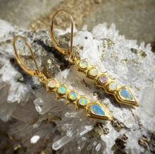Load image into Gallery viewer, Lisa Kim Spiny Opal Earrings