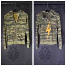 Load image into Gallery viewer, Aviator Nation Camo Bolt Hoodie
