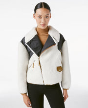Load image into Gallery viewer, Frame Off White Multi Fleece Mix Jacket