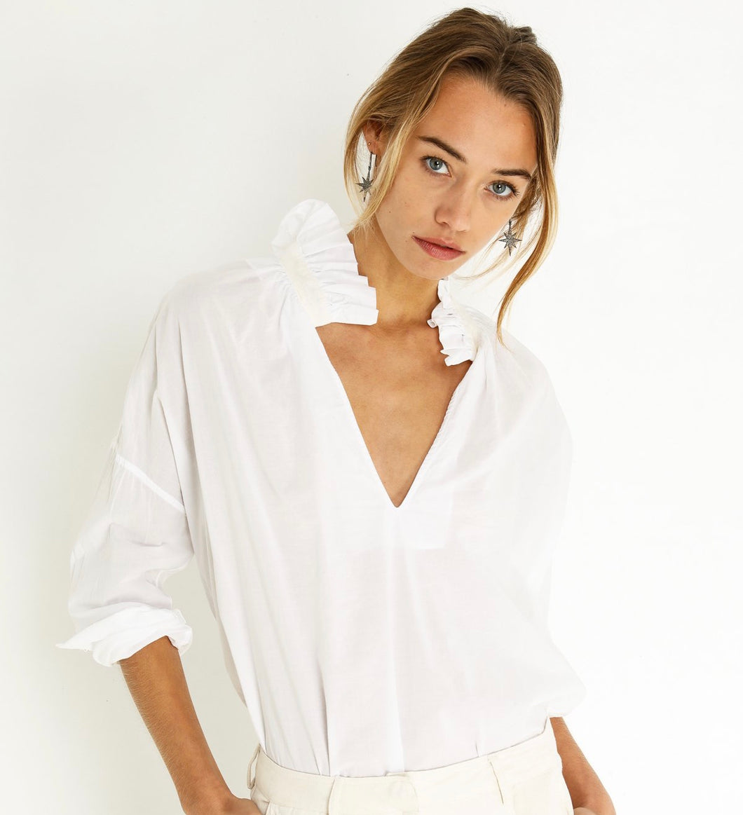A Shirt Thing White Penelope Cabo Shirt