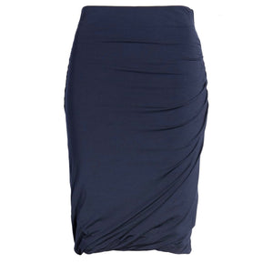 FRAME Double Ruched Skirt