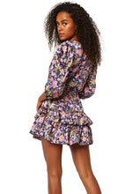 Load image into Gallery viewer, MISA Los Angeles Lilah Dress - Falaise Floral Satin