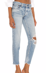 Moussy Raleigh Tapered Jeans