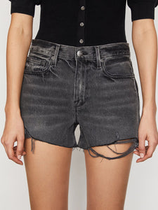 Frame Le Brigette Short Raw Edge  Harbor Way Destruct