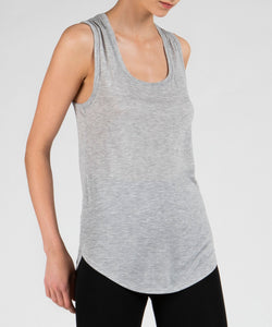 ATM Anthony Thomas Melillo Heather Grey Sweetheart Tank Top