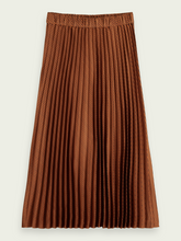 Load image into Gallery viewer, Maison Scotch Pleated Midi Skirt