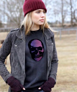 Unsweetened New York Skull Sweatshirt