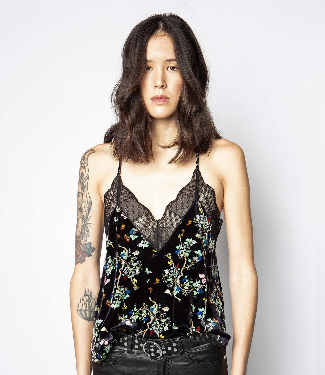 Zadig & Voltaire Christy Blossom Cami