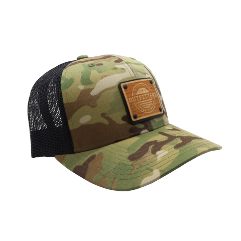 OCC Rosewood Patch Multi-Cam Hat