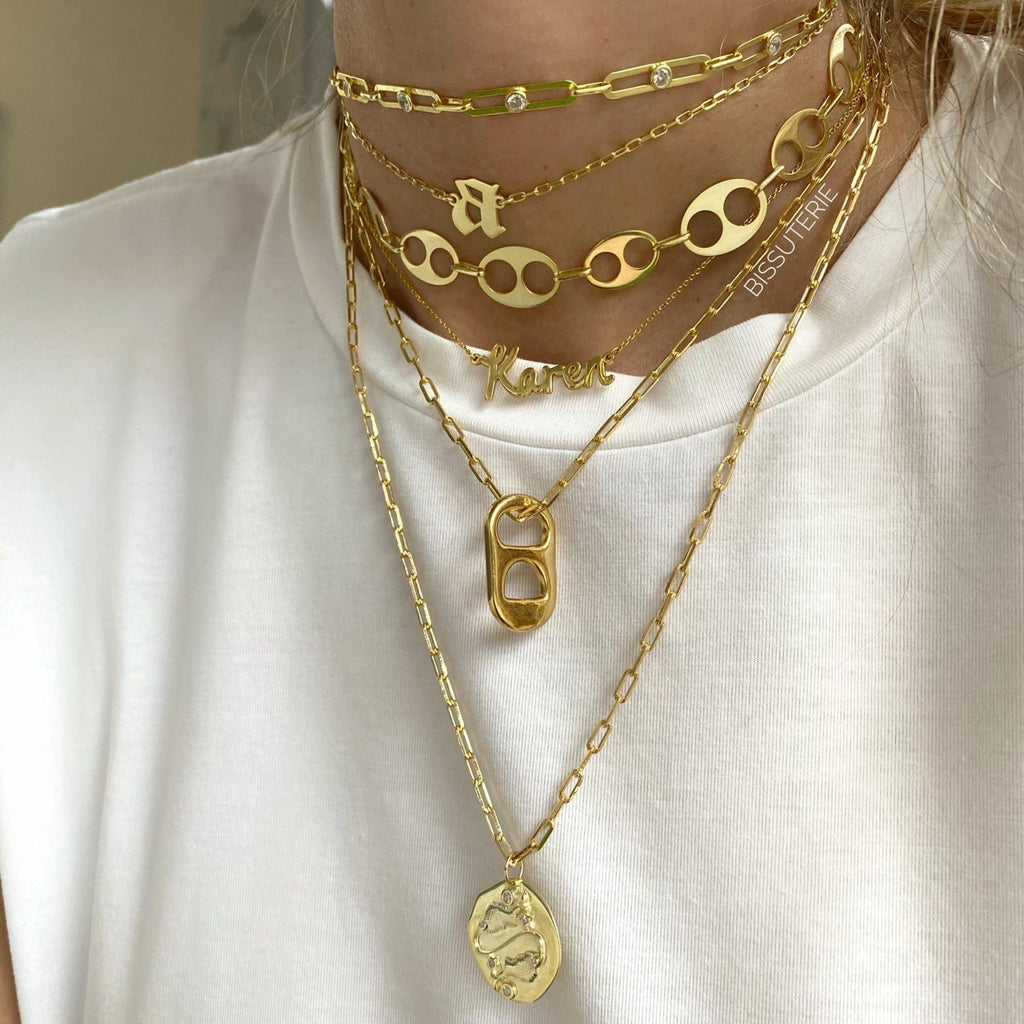 GOLDEN MIX CHAINS SET