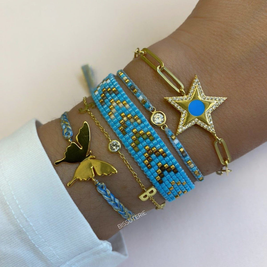 LIGHT BLUE BRACELET SET