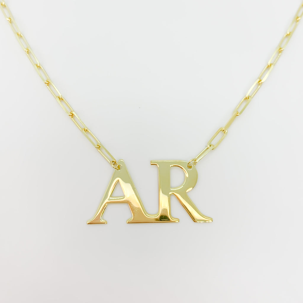 Modern monogram - box chain