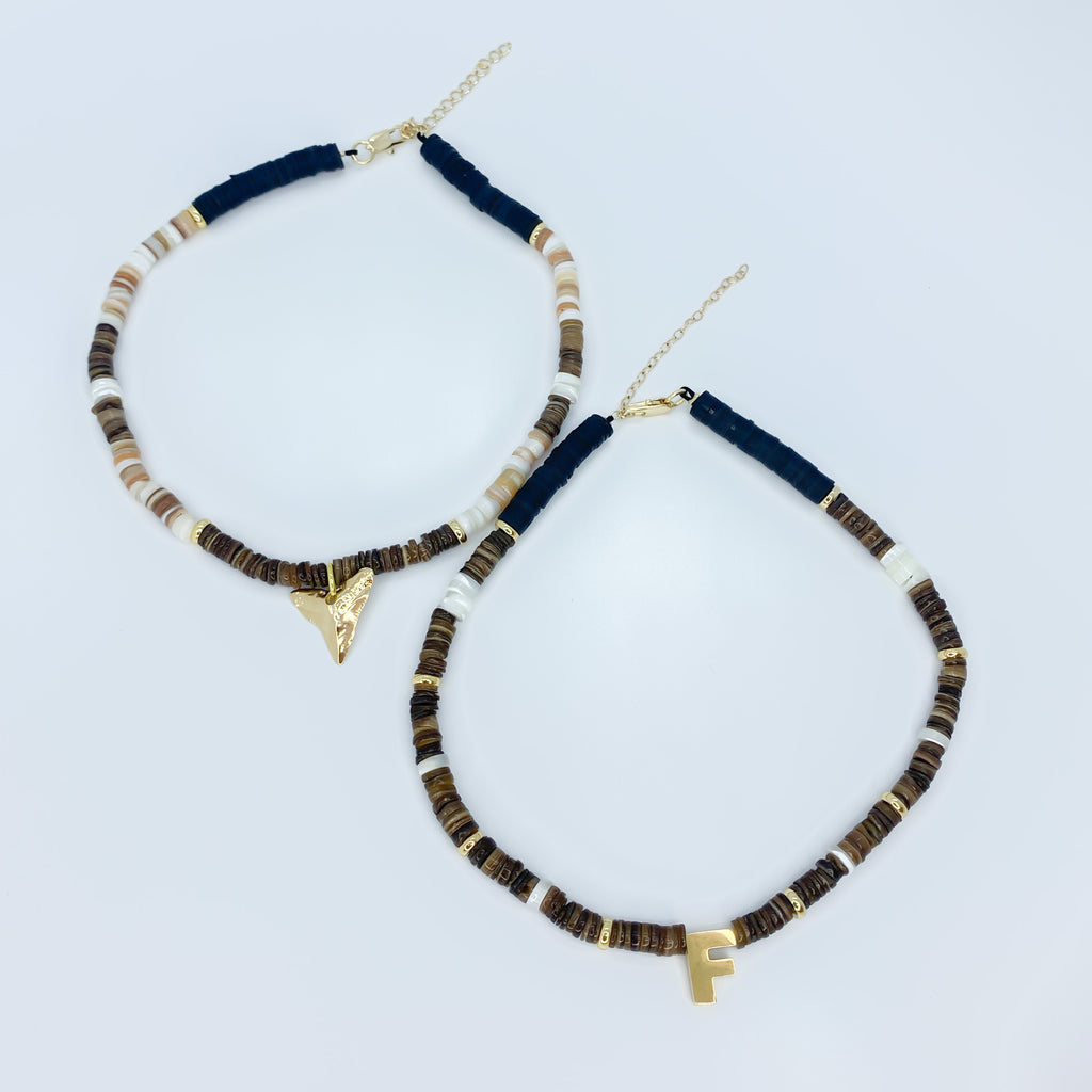 Earth Color Choker Set