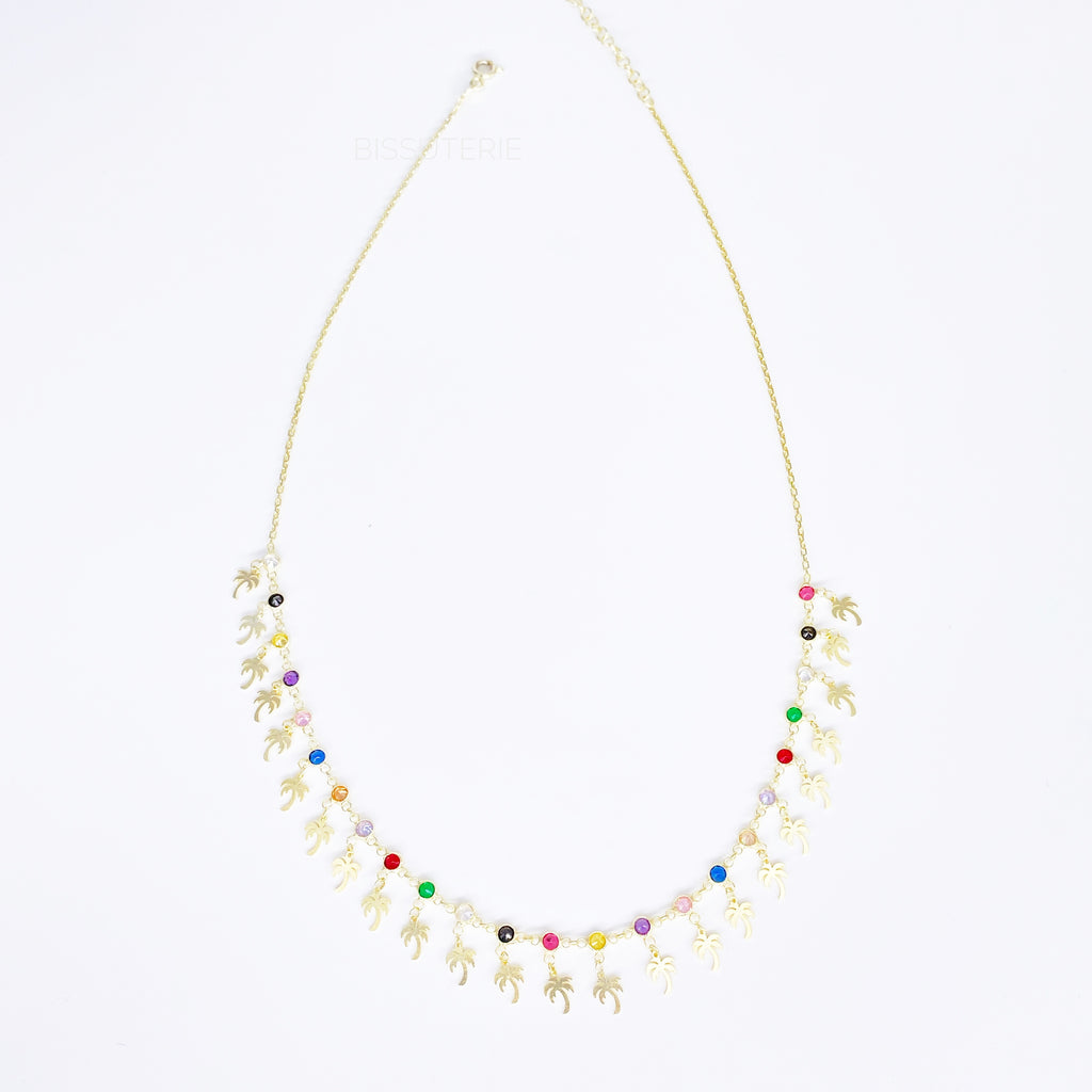 Palms Multicolor Necklace