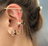 BLACK Earcuffs