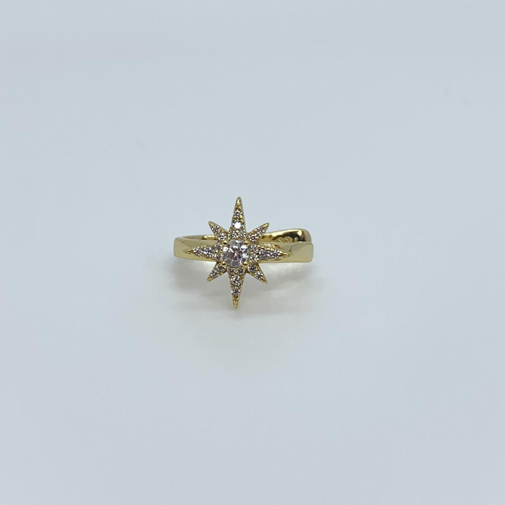 Eight Point Star EarCuff