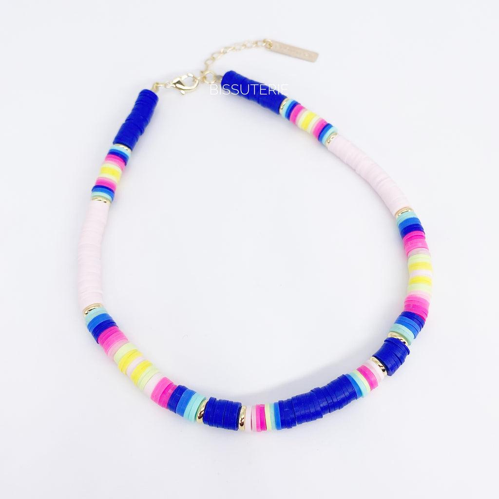 Blue and Pink Chokers