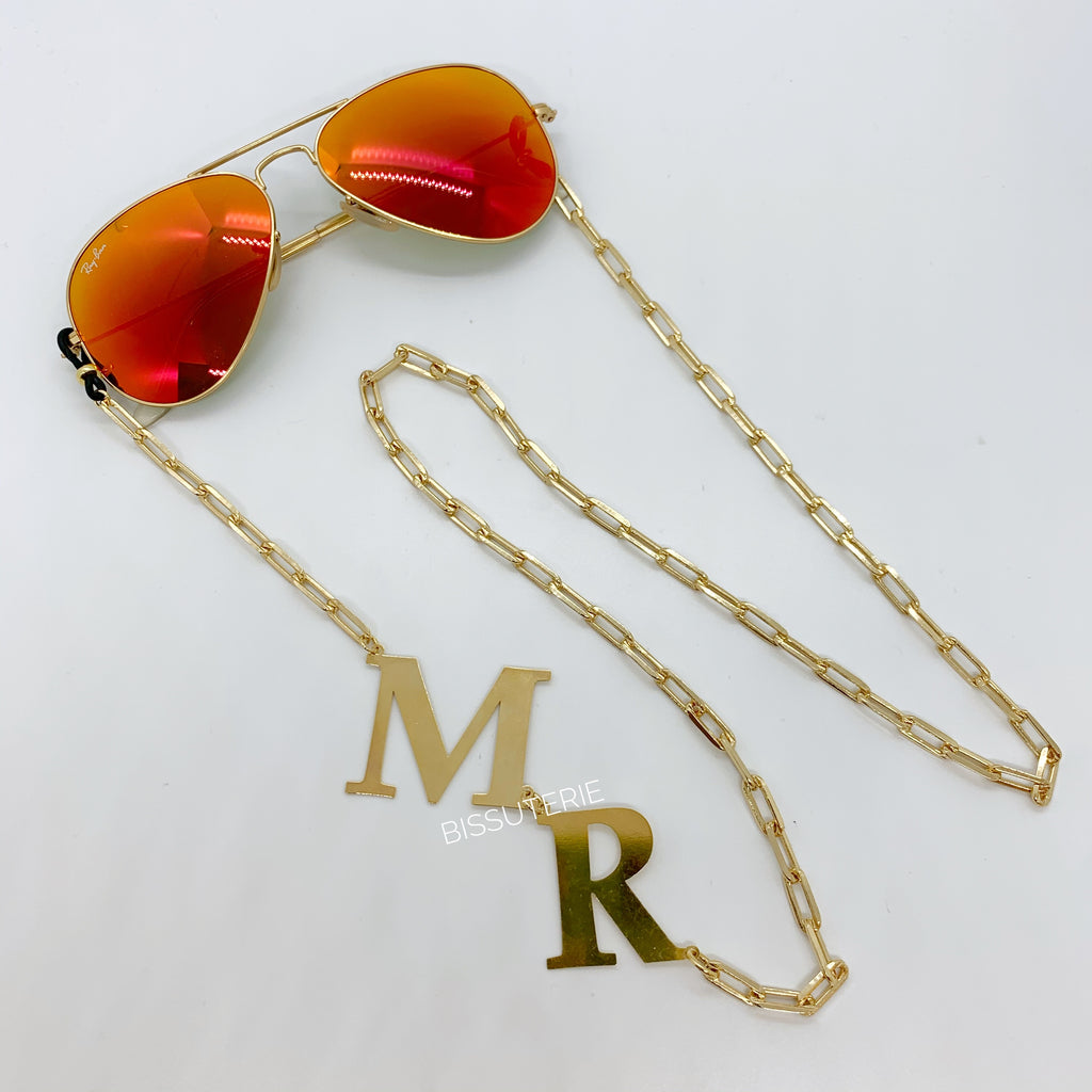 Initials Sunglasses Chain