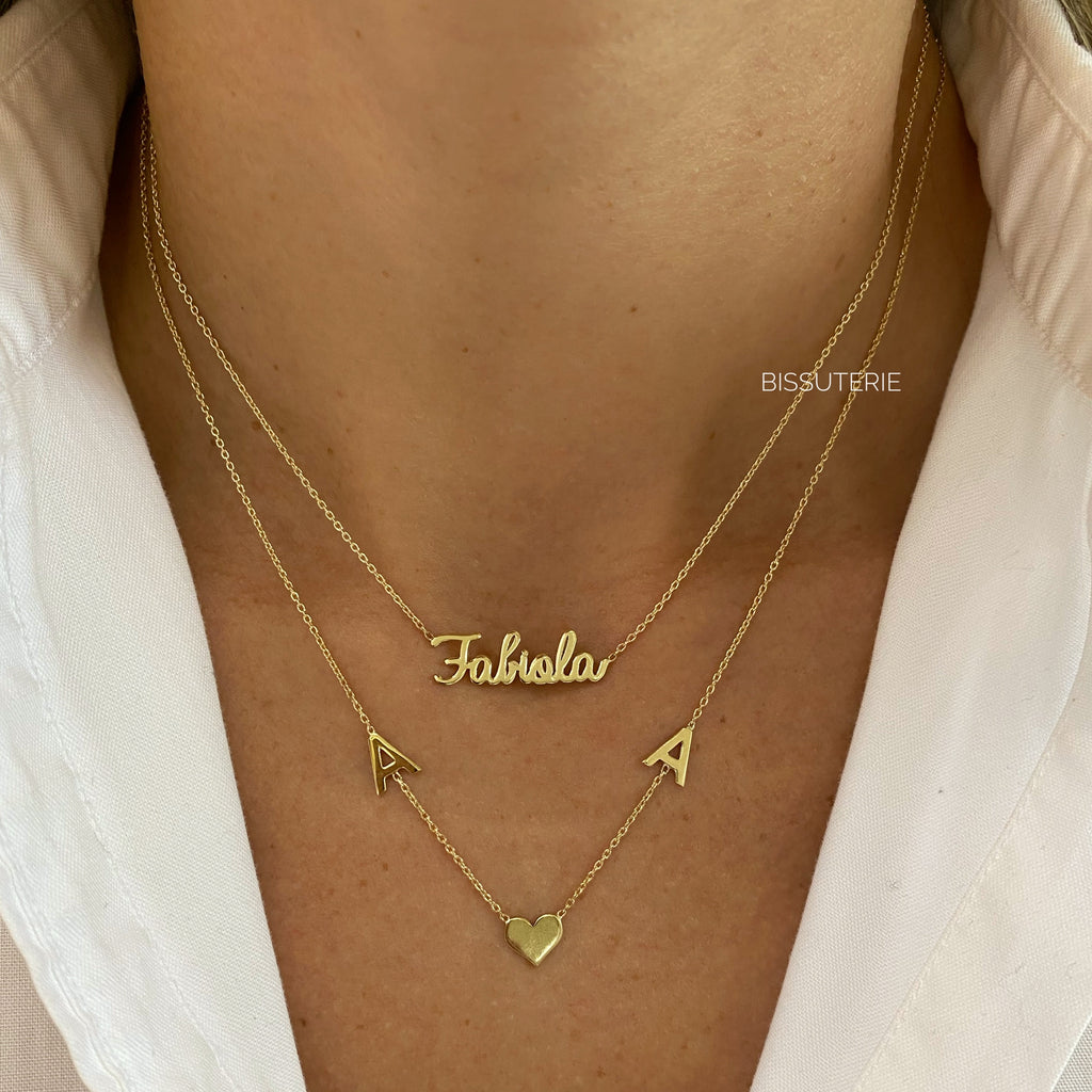 Gold 14K Names and Initials