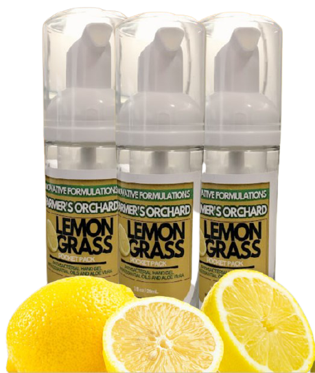 FOAMING ALCOHOL SANITIZER Lemon Grass