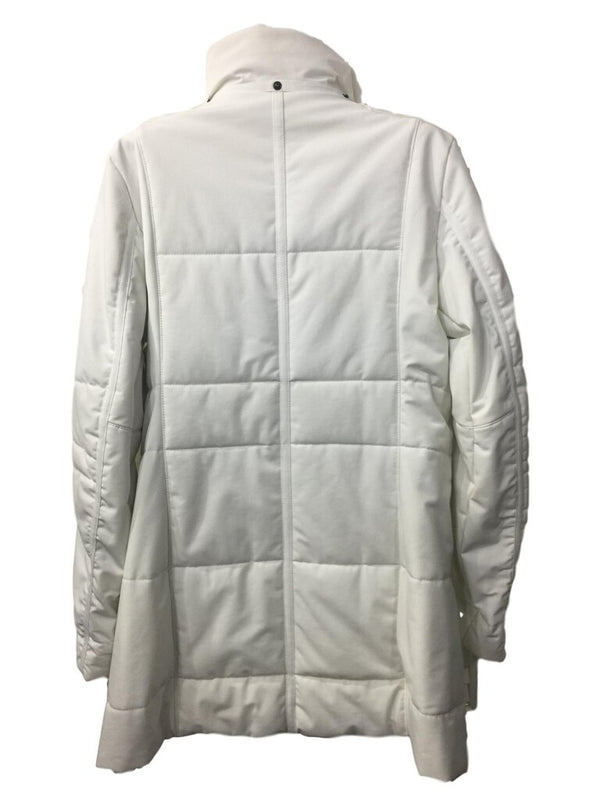 Frauenschuh White Parka Hand Crafted Austria Jacket Coat Size 3